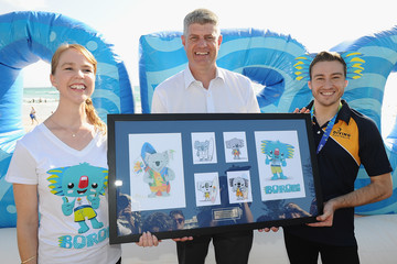 Matthew Mitcham Official Reveal Of GC2018 Mascot & Two Years to Go Celebrations