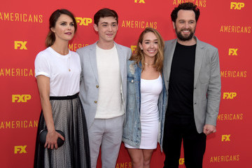 Matthew Rhys Holly Taylor For Your Consideration Red Carpet Event For Series Finale Of FX's 'The Americans'