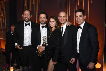Matthew Rhys Joel Fields FOX Broadcasting Company, FX, National Geographic And 20th Century Fox Television 2018 Emmy Nominee Party - Inside