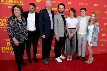 Matthew Rhys Noah Emmerich For Your Consideration Red Carpet Event For Series Finale Of FX's 'The Americans'
