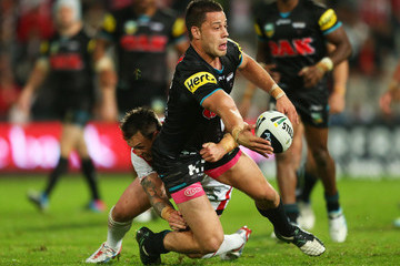 Matthew Robinson Dragons v Panthers