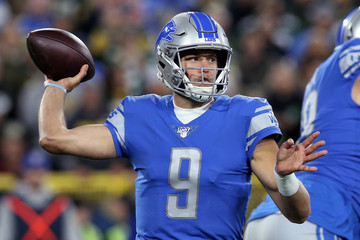 Matthew Stafford Detroit Lions v Green Bay Packers