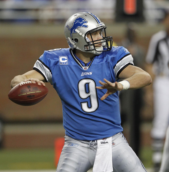 Matthew+Stafford+Washington+Redskins+v+D
