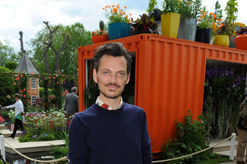 Matthew Williamson Chelsea Flower Show - Press Day 2016