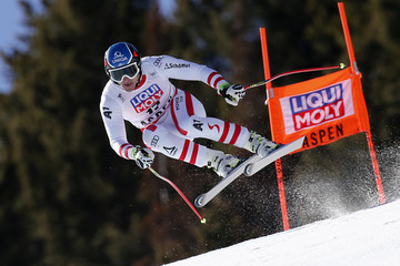 Matthias Mayer Audi FIS Alpine Ski World Cup - Men's and Women's Downhill