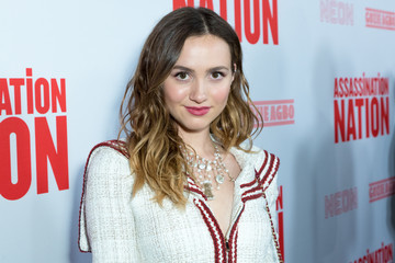 Maude Apatow Premiere Of Neon And Refinery29's 'Assassination Nation' - Red Carpet