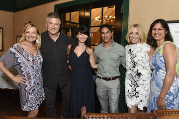 Maulik Pancholy Hamptons Magazine Celebrates With Cover Star Jane Krakowski