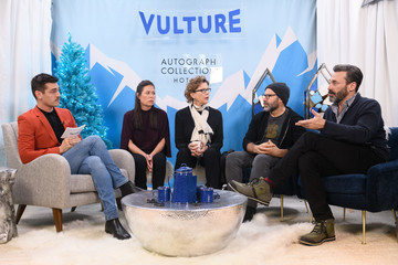 Maura Tierney The Vulture Spot At Sundance - DAY 3