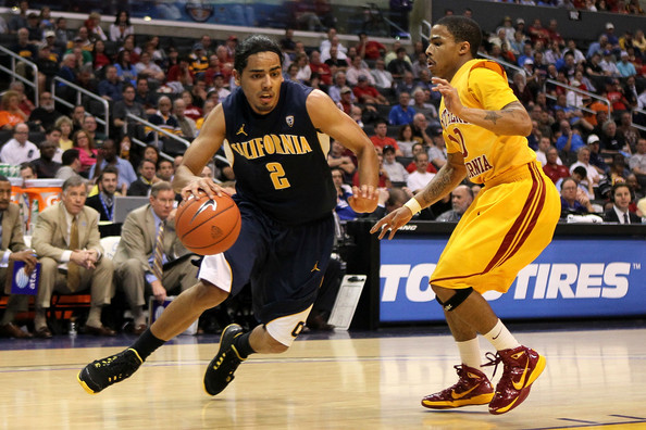 Maurice Jones and Jorge Gutierrez - Pac 10 Basketball Tournament - Quarterfinals
