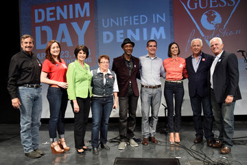 Maurice Marciano 15th Anniversary of Denim Day Celebrated in LA
