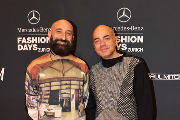 Maurizio Modica Arrivals at the Mercedes-Benz Fashion Days