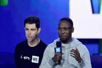 Max Greenfield WE Day California - Inside