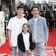 """Max Luca Mills """"Ron's Gone Wrong"""" World Premiere - 65th BFI London Film Festival"""