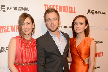 "Max Thieriot A&E's ""Bates Motel"" and ""Those Who Kill"" Premiere Party - Red Carpet"