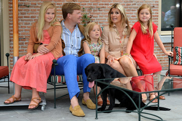 Maxima The Dutch Royal Family Hold Annual Summer Photo Call