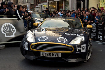 Maximillion Cooper Gumball Rally Closes Down Regent Street