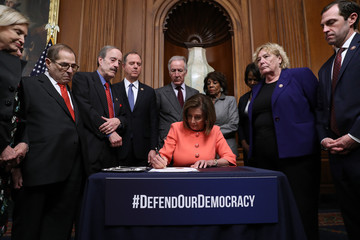 Maxine Waters Adam Schiff European Best Pictures Of The Day - January 16