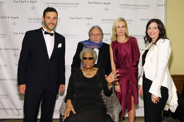 Maya Angelou Arrivals at the Norman Mailer Center Benefit Gala