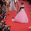 Maya Henry 'Le Belle Epoque' Red Carpet - The 72nd Annual Cannes Film Festival