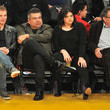 Mayan Lopez Celebrities At The Los Angeles Lakers Game