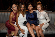 With Fellow Models at Maybelline New York's Fashion Week Party - Spotted at Fashion Week: Gigi Hadid