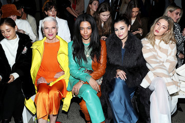Maye Musk Sally LaPointe - Front Row - February 2020 - New York Fashion Week: The Shows