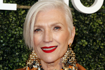 Maye Musk MAISON-DE-MODE Celebrates Sustainable Style By Honoring Suzy Amis Cameron Of Red Carpet Green Dress - Arrivals