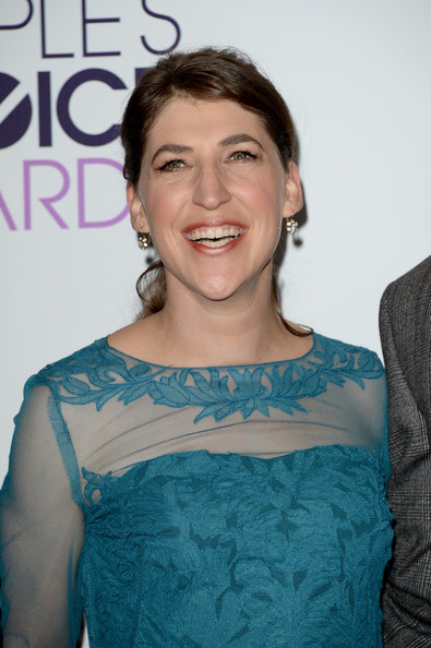 Mayim Bialik Photos - Press Room at the People's Choice Awards ...