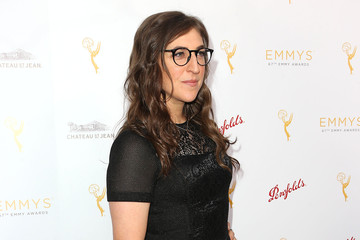 Mayim Bialik Television Academy's Performers Peer Group Hold Cocktail Reception to Celebrate 67th Emmy Awards