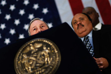 Martin Luther King III Mayor Bloomberg Makes Major Illegal Gun Control Announcement
