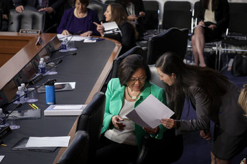 Mazie Hirono Senate Holds Confirmation Hearing For Brett Kavanugh To Be Supreme Court Justice