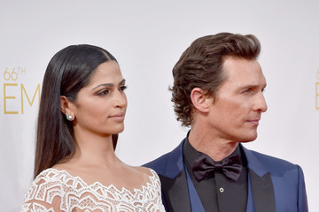 McConaughey Arrivals at the 66th Annual Primetime Emmy Awards — Part 2