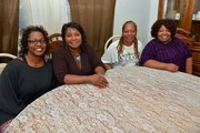 McCrary Sisters Alfreda, Regina, Ann and Deborah during the McCrary Sisters Soul Food CD Release Feast on March 10, 2015 in Nashville, Tennessee.