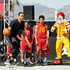 Ronald Mcdonald Photos - Ryan Hollins (L) and Ronald McDonald attend McDonald's at Bleacher Report All-Star Experience on February 18, 2018 in Santa Monica, California. - McDonald's at Bleacher Report All-Star Experience