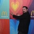 David Arquette got really excited about McDonalds.