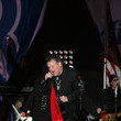 Meat Loaf Candidate Mitt Romney Campaigns In Crucial Swing States