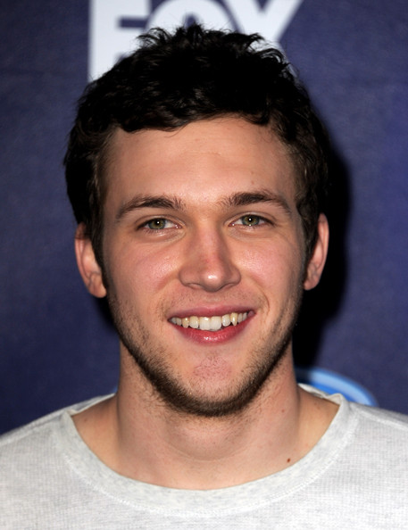 Singer Phillip Phillips arrives at Fox's American Idol finalist party at The Grove on March 1, 2012 in Los Angeles, California.