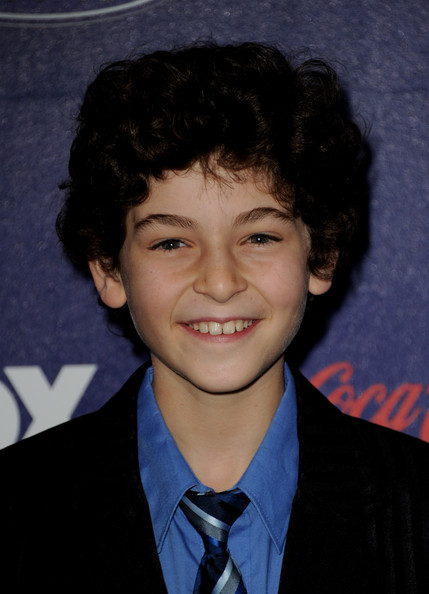 Actor David Mazouz arrives at Fox's American Idol finalist party at The Grove on March 1, 2012 in Los Angeles, California.