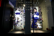A view of the exterior of the PUMA Flagship store during the Meet & Greet with Selena Gomez at PUMA Flagship on January 14, 2020 in New York City.