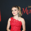 Meg Donnelly Los Angeles World Premiere Of Disney's