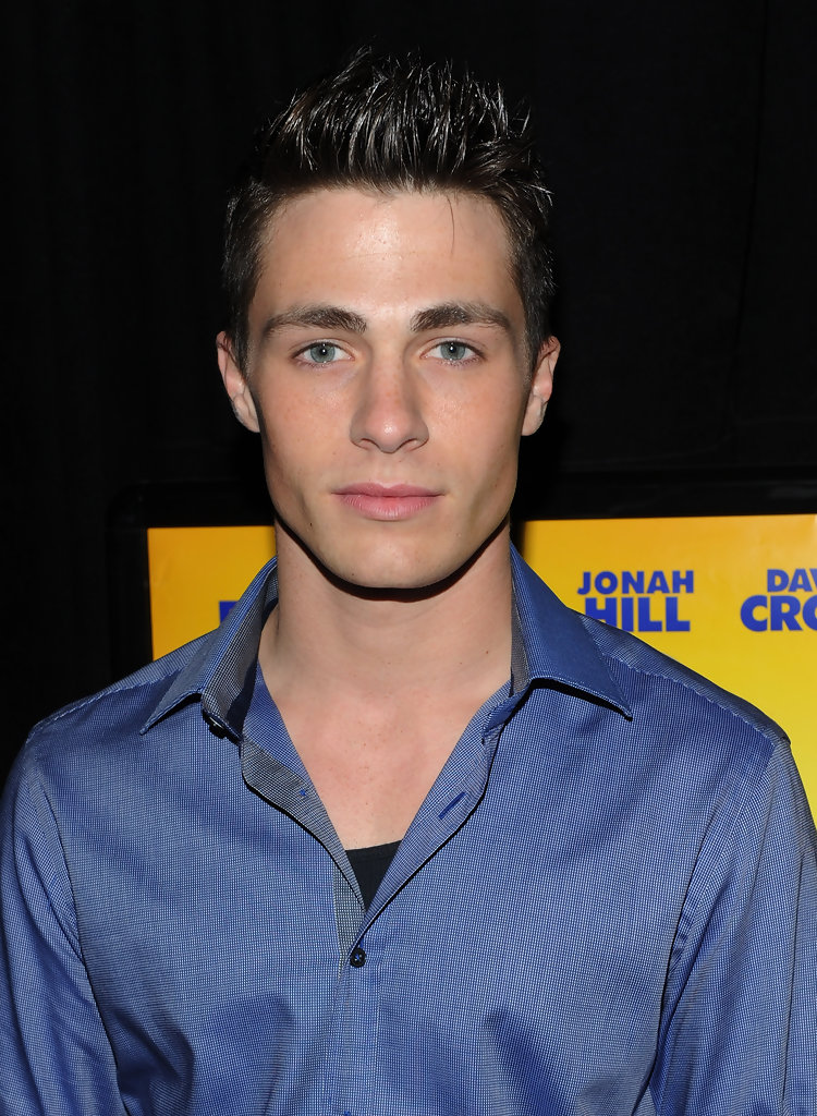 "Colton Haynes in ""Megamind"" - New York Premiere - Inside ..."