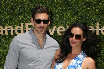 Megan Gale Melbourne Waterford Crystal Polo In The City
