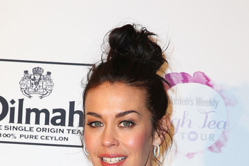 Megan Gale The Australian Women's Weekly and OCRF High Tea - Arrivals