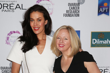 Megan Gale The Australian Women's Weekly and OCRF High Tea Sydney