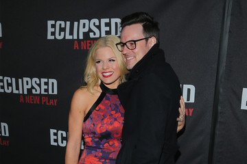 """Megan Hilty Brian Gallagher """"Eclipsed"""" Broadway Opening Night - Arrivals & Curtain Call"""