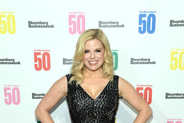 Megan Hilty 'The Bloomberg 50' Celebration In New York City - Arrivals