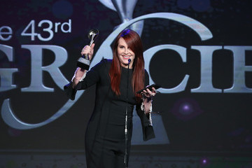 Megan Mullally The 43rd Annual Gracie Awards
