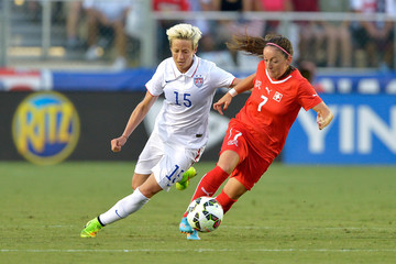 Megan Rapinoe Switzerland v United States