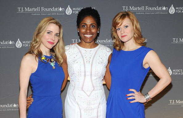 Arrivals at the Women of Influence Awards [fashion,cobalt blue,fashion design,dress,cocktail dress,electric blue,blond,event,model,long hair,arrivals,kerry butler,megan sikora,gillian horsham,martell foundations women of influence awards,l-r,t.j.,new york city,martell foundations women of influence awards]