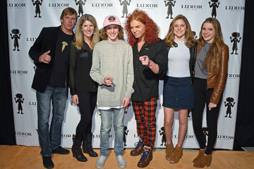 Megan Thompson Carrot Top 10th Anniversary Celebration at The Luxor in Las Vegas